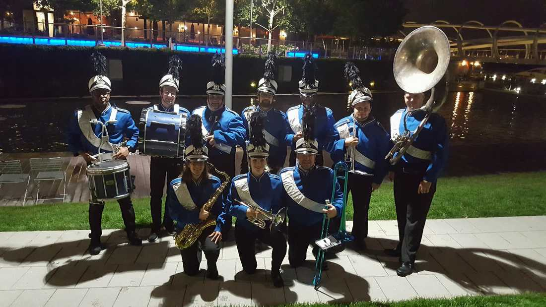 Hire a marching band now at Maryland Entertainment!